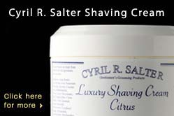 Cyril R. Salter Shaving Cream