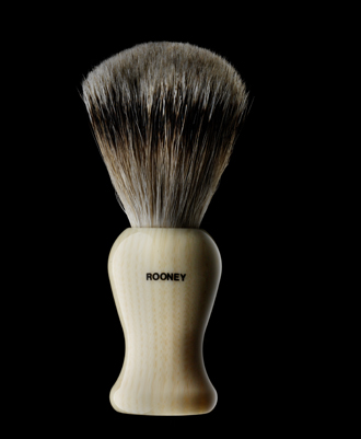 Rooney Silvertip Badger Brush